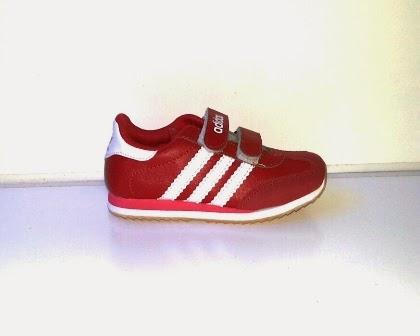 Sepatu Adidas Samba Anak merah