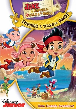 Jake e os Piratas da Terra do Nunca: Salvando a Terra do Nunca   DVDRip AVI + RMVB Dublado