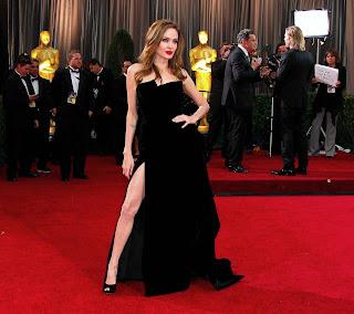 Angelina Jolie en la alfombra roja