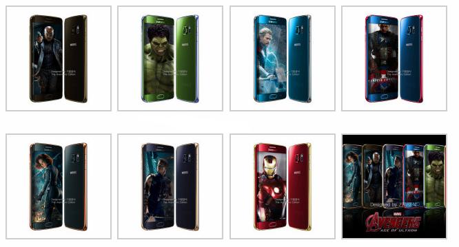 Galaxy S6 Avengers Edition