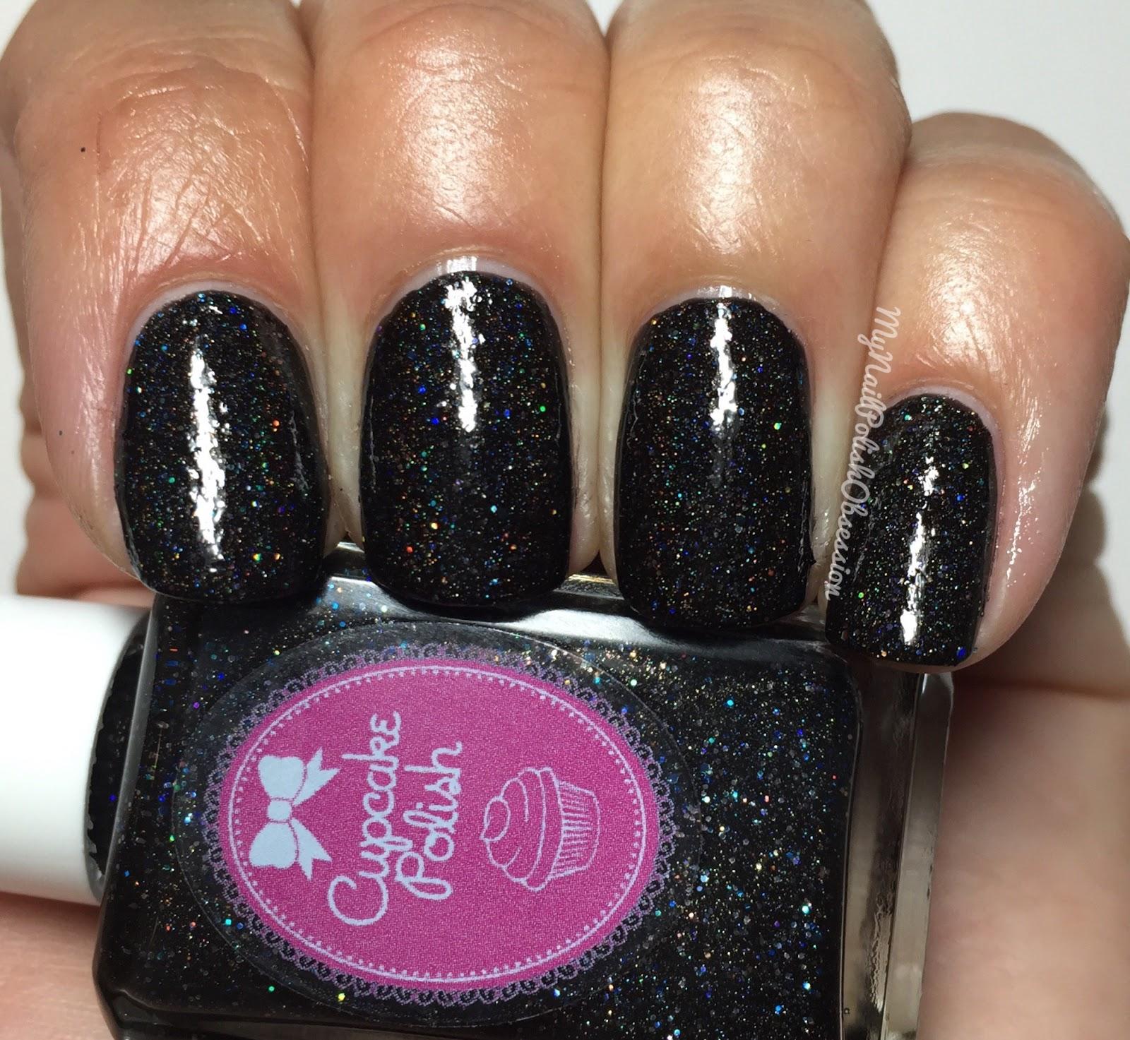 My Nail Polish Obsession: Cupcake Polish Doorbuster, Black