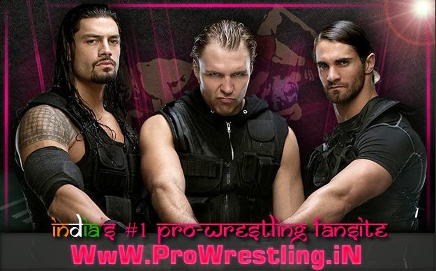 Result » WWE Extreme Rules 2014 - Evolution vs The Shield (6-Man Tag Team Match)