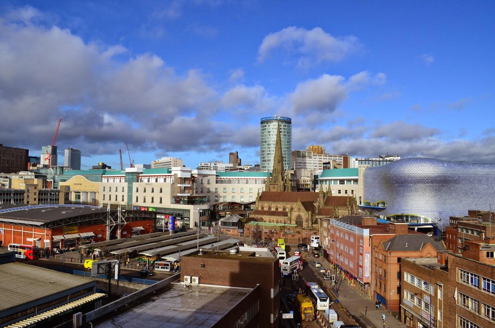 Pubs: Then & Now: Birmingham City Skyline : 1980's to 2014