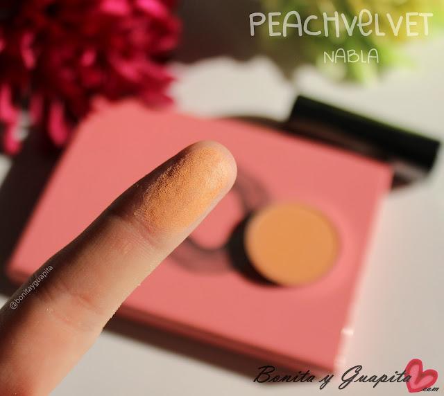 peach velvet nabla