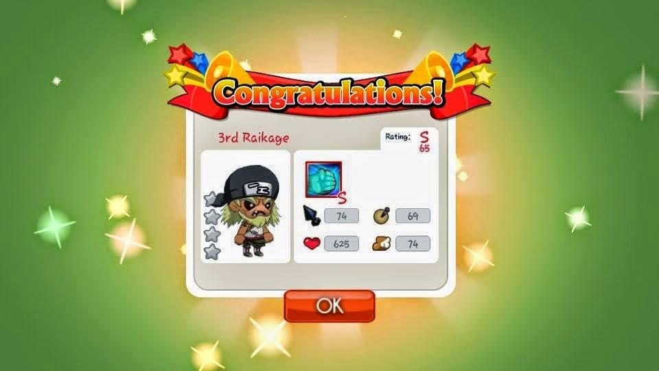 Cara Mudah Mendapatkan Ninja Rank S SD Ninja Heroes
