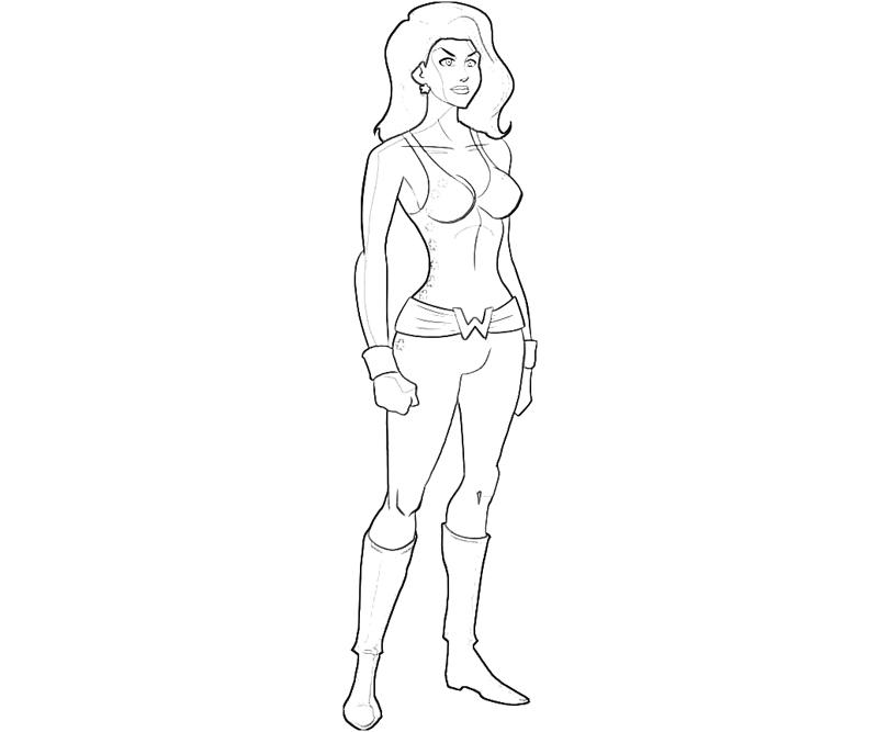 printable-dc-universe-donna-tro-look-coloring-pages