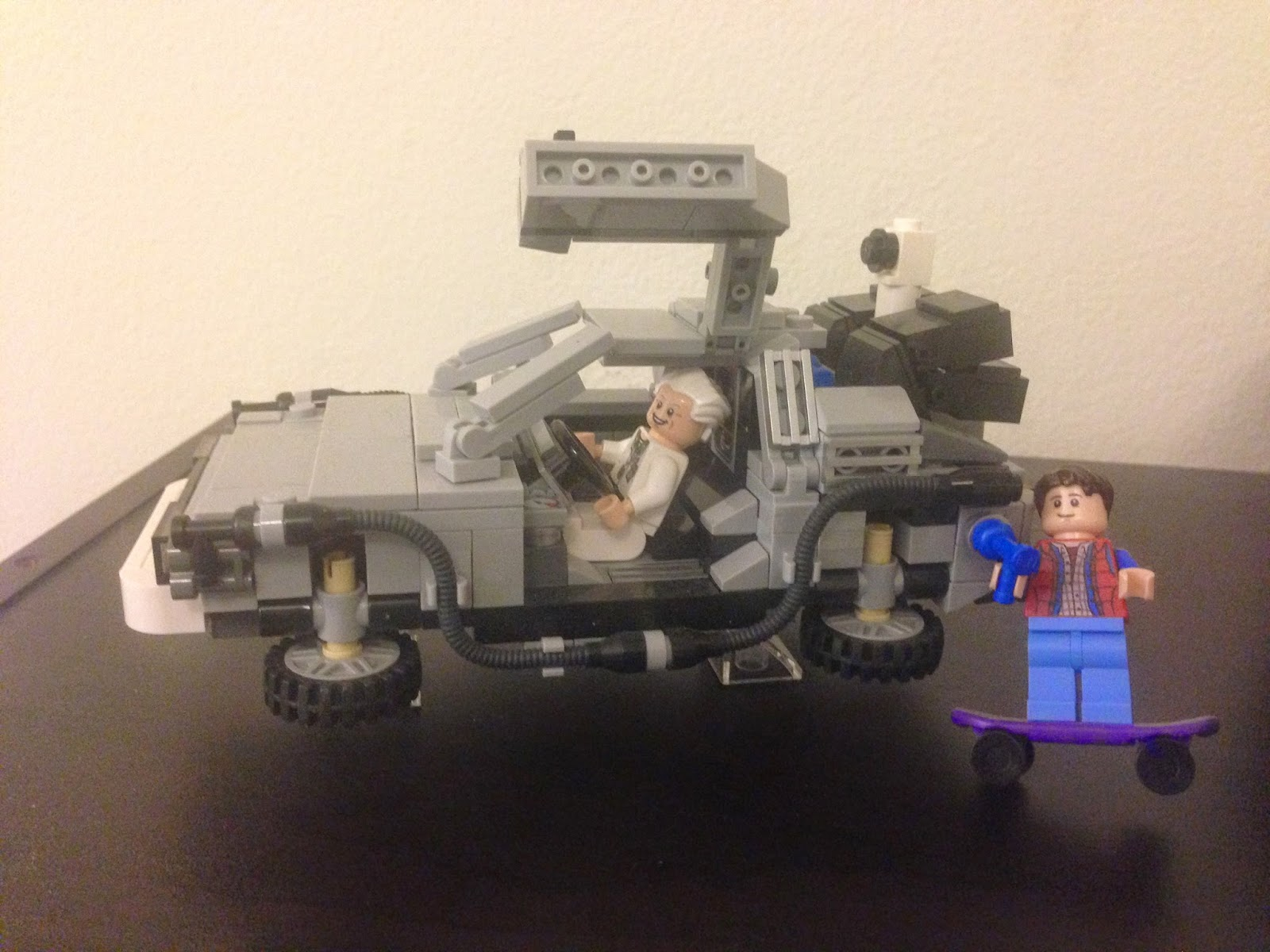 lego back to the future comicon
