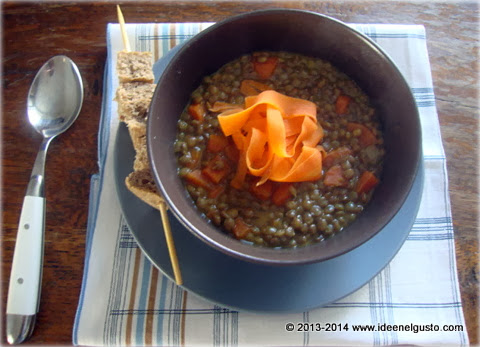 lenticchie  in crema