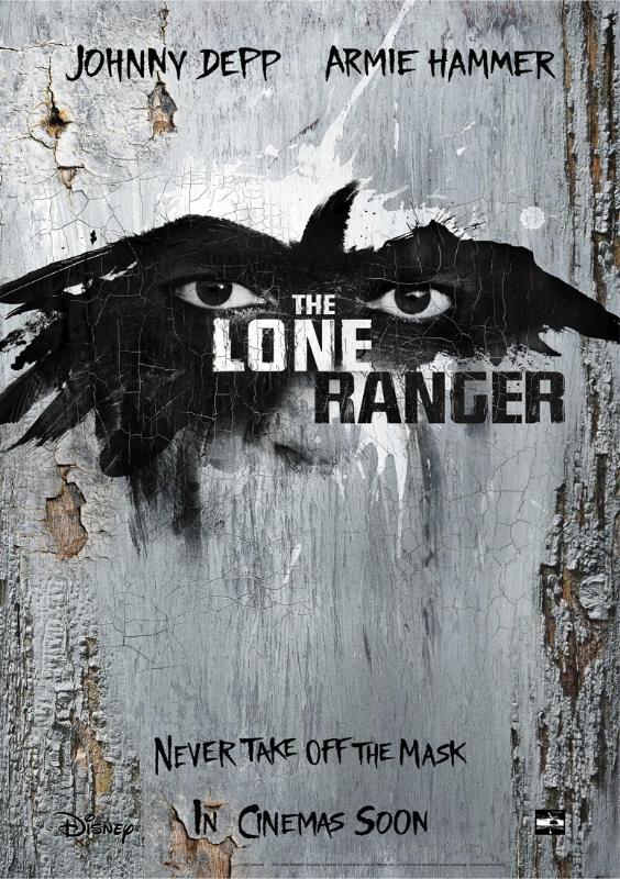 The Lone Ranger (El Llanero Solitario) primer teaser poster