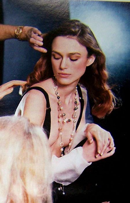 keira knightley chanel poster. Keira Knightley For Chanel
