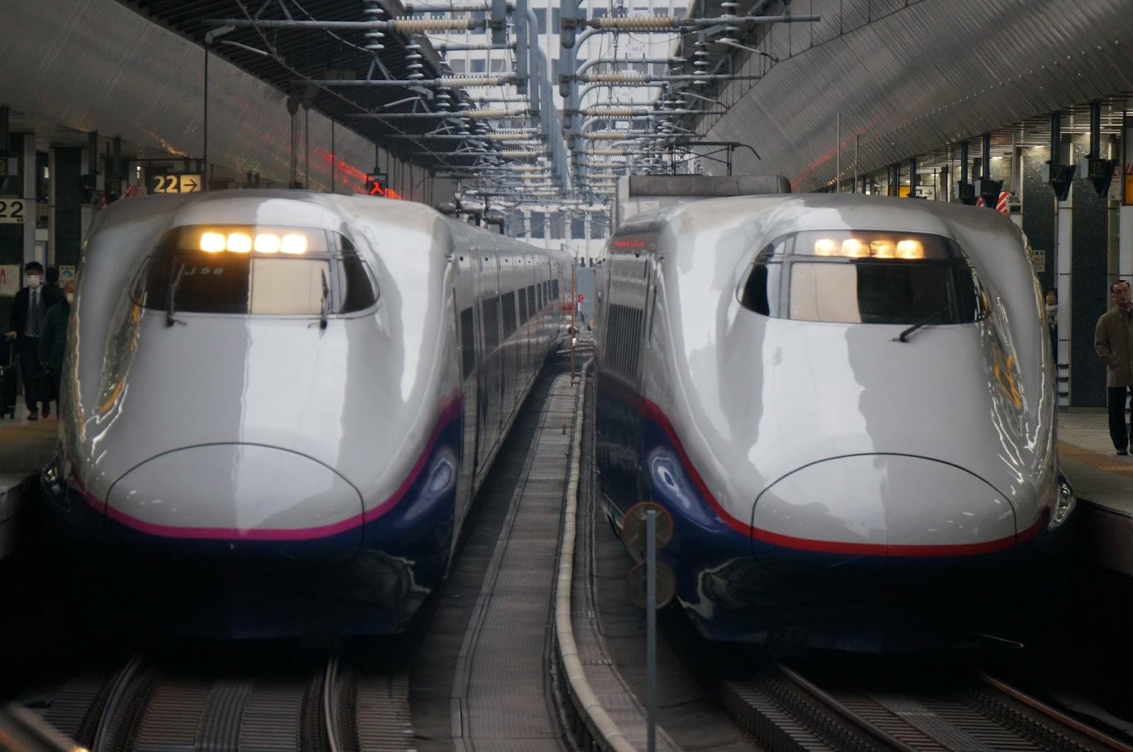 JR東日本E2系新幹線たち