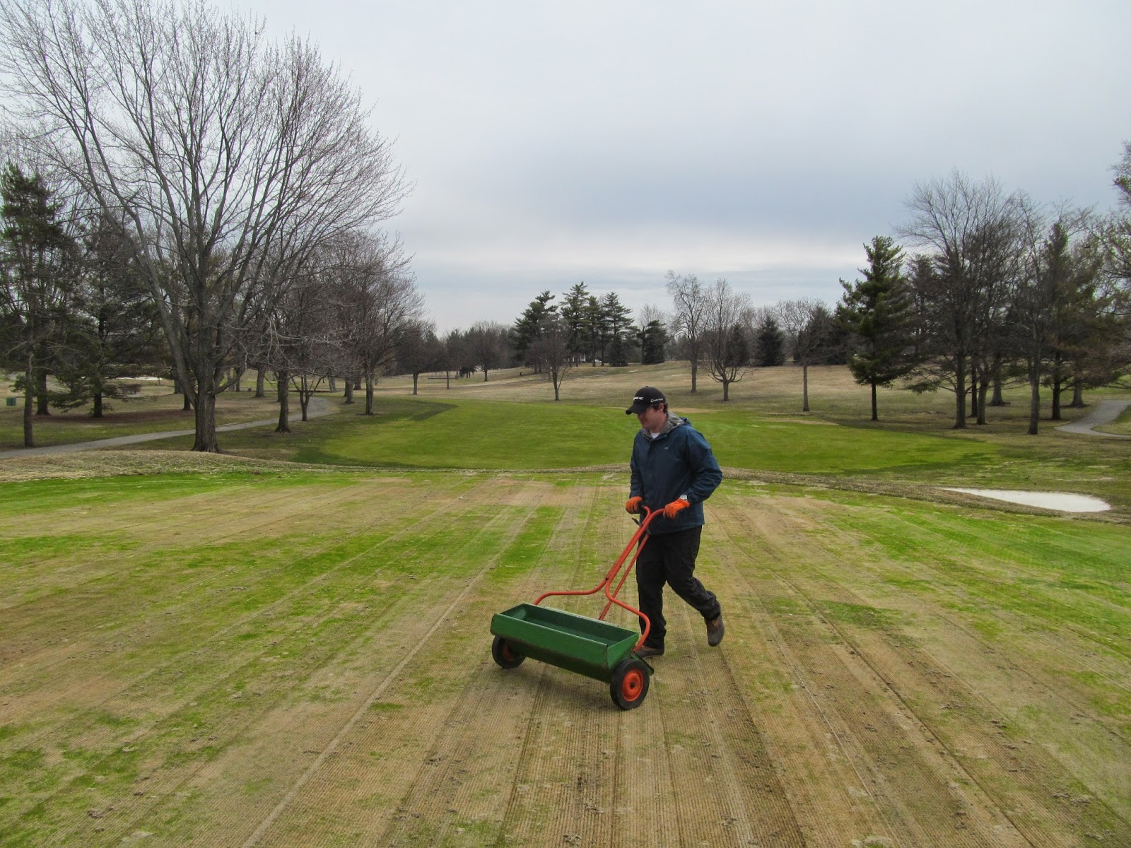 meadowbrook country club golf course maintenance april 2014