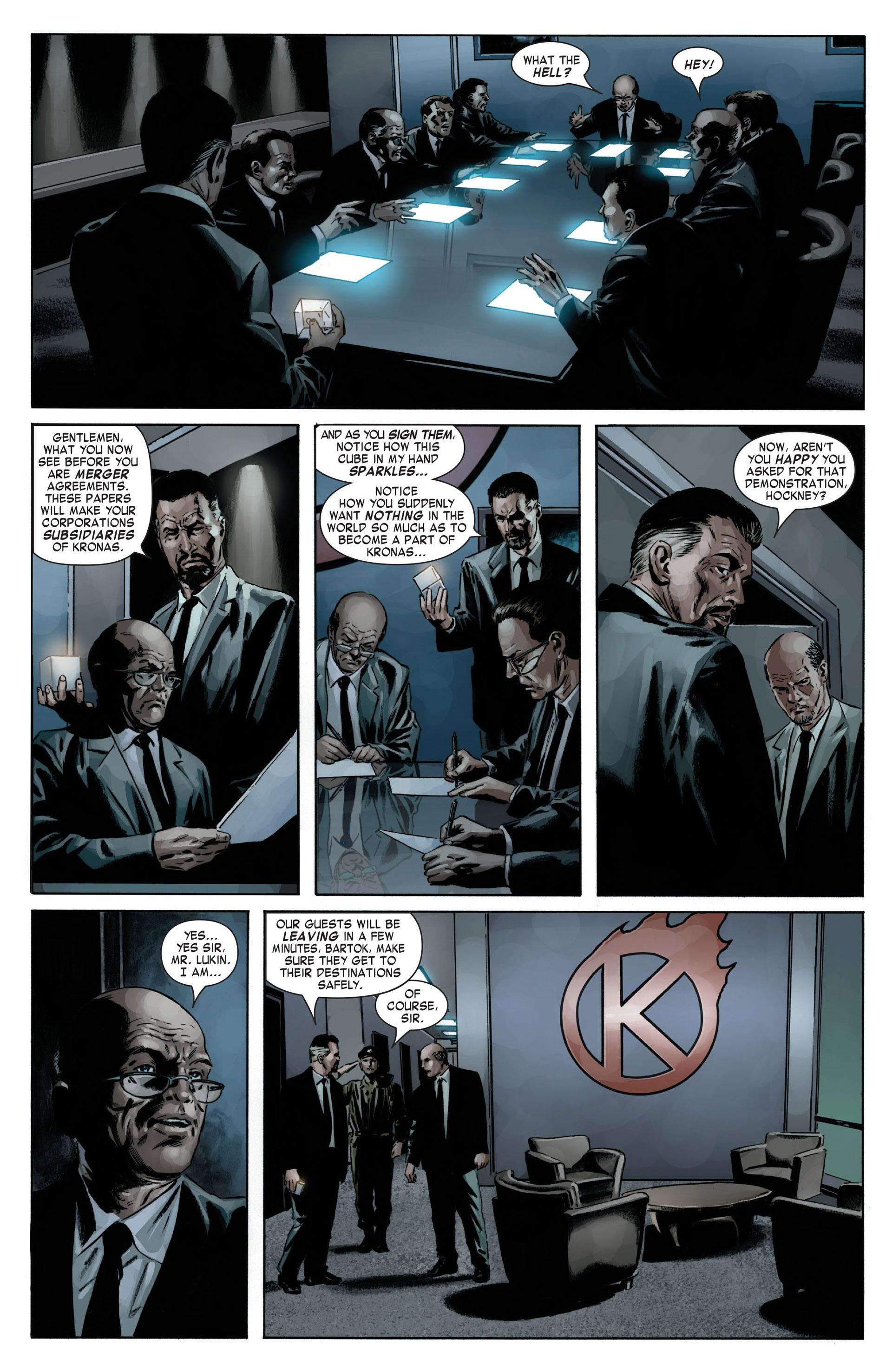 Captain America (2005) Issue #12 #12 - English 13