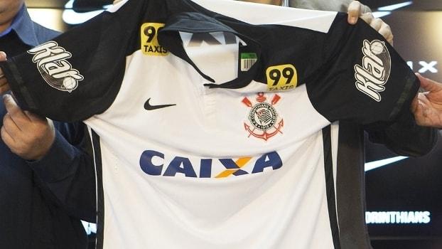 Camisa do Corinthians com o logo da Klar