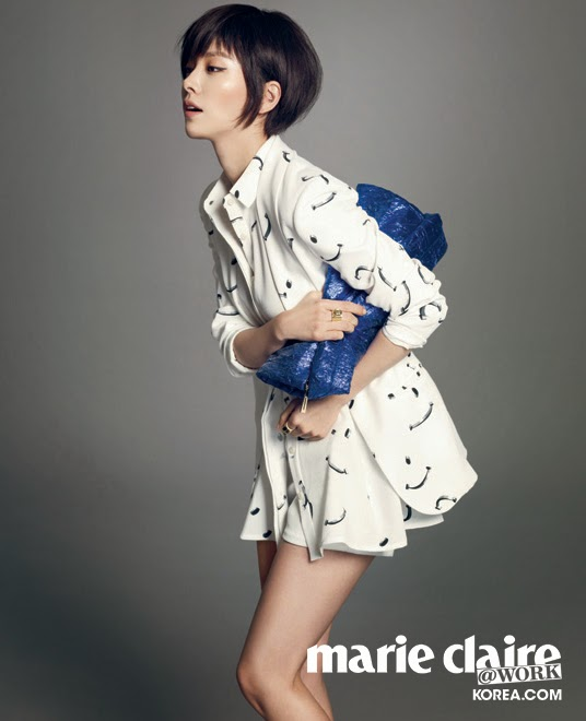 Han Ji Min - Marie Claire Magazine May Issue 2014