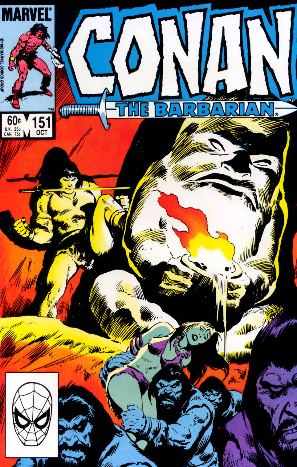 Conan the Barbarian (1970) Issue #151 #163 - English 1