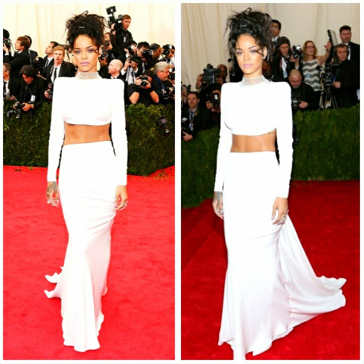 Rihanna's Best Fashion Moments of 2014