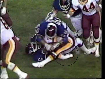 Said think of how memorable lt s hit on joe theismann will always be