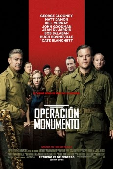 ver The Monuments Men (Operacion Monumento) 2014