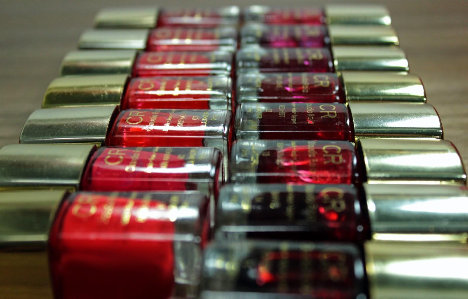 Claudia Raia, atriz, celebridades, esmaltes, vermelho, coleção, raia rouge, fashion mimi, swatches, vídeo, beleza, beauty, nails, unhas, mão feita, 3 free, hipoalergênico, luxor cosméticos, ayla meireles