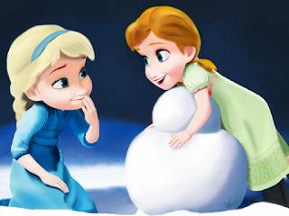 Gambar Elsa dan Anna Frozen wallpaper 10