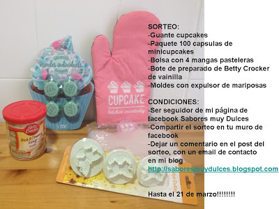 Sorteo Sabores Muy Dulces