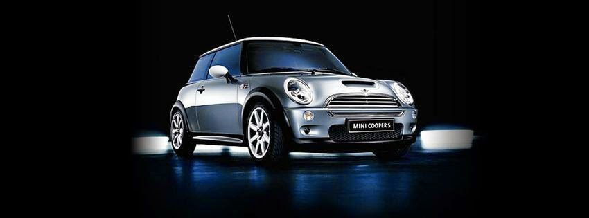 couverture facebook jolie mini cooper