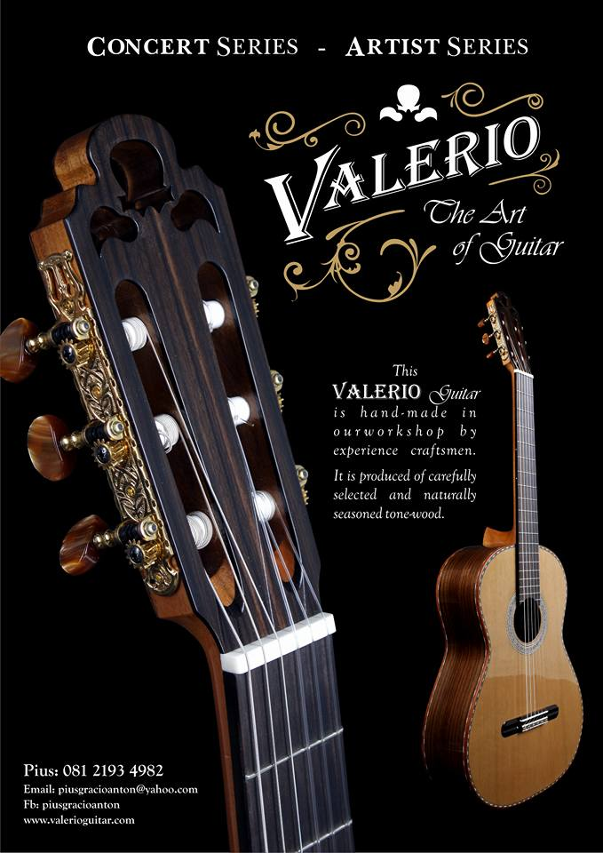 VALERIO GUITAR HAND MADE