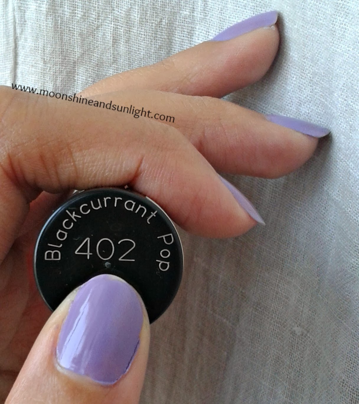 Maybelline Colorshow Backcurrant Pop swatches and Review