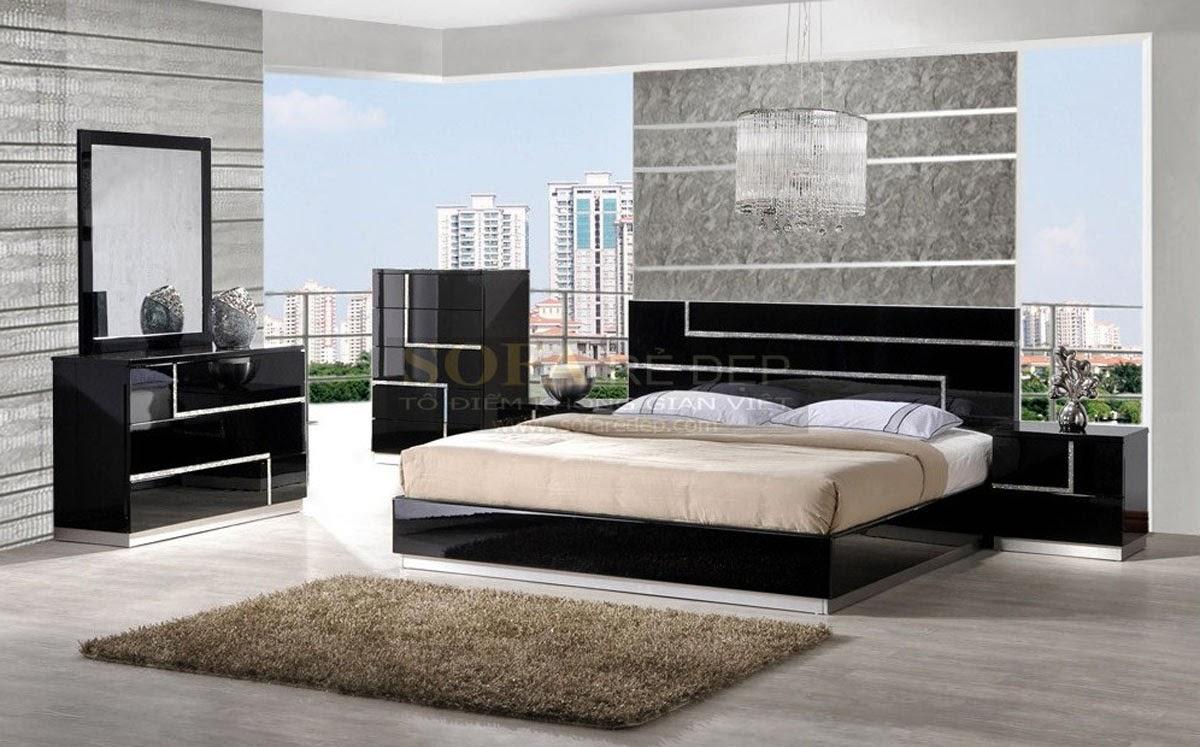 Giường ngủ GN023