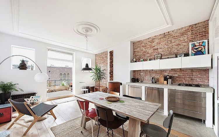 Un appartamento dal sapore industriale coffee break for Appartamento design industriale