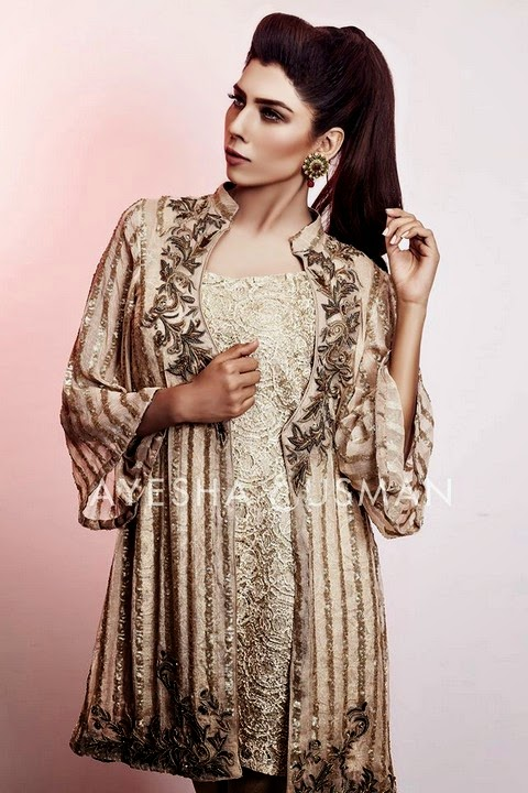 Ayesha and Usman Qamar Eid Collection 2014