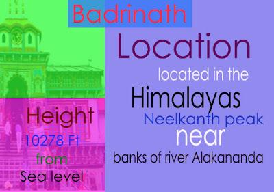 Badrinath Dham Information