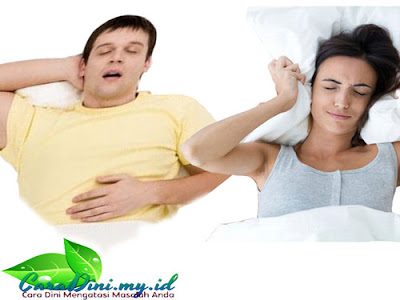 Tidur mendengkur atau ngorok