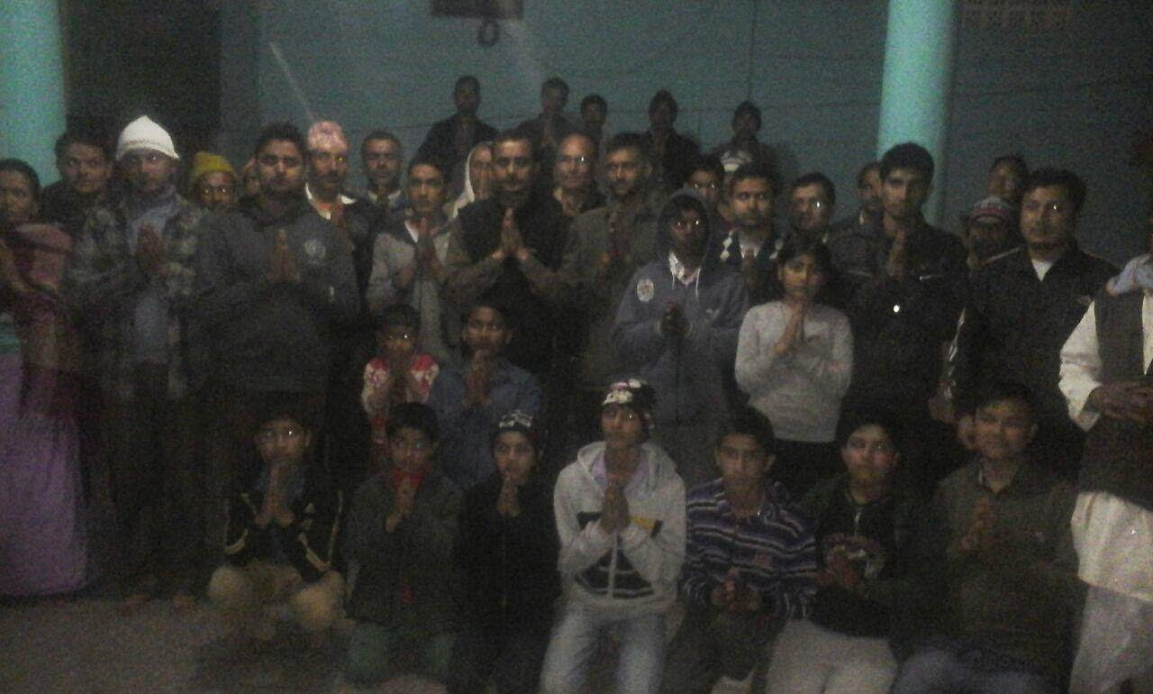 All Manipur Gorkha Students' Union Condolence  India - Nepal quake victims