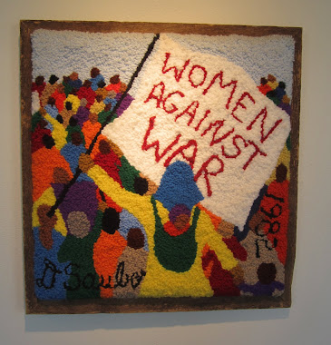 Women Against War - a Rug.