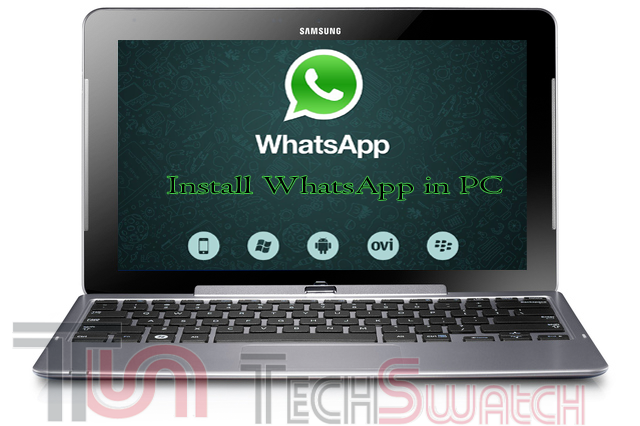 Install WhatsApp om PC or Laptop