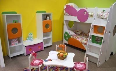dormitorio infantil dos niñas
