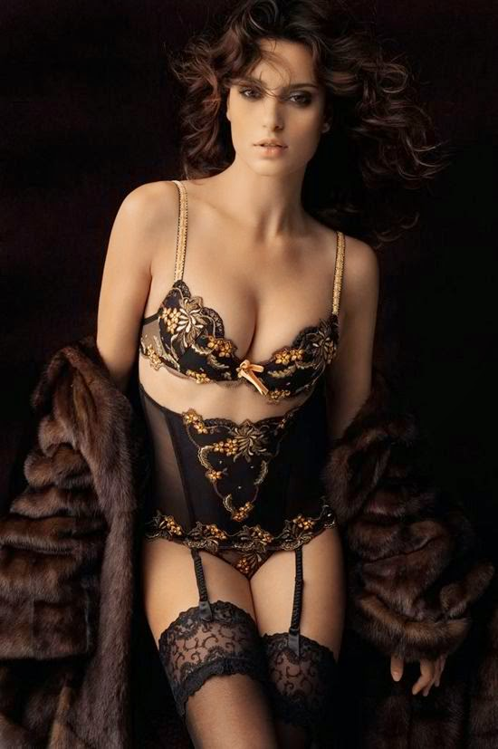 Hot and beautiful lingerie woman # : 9