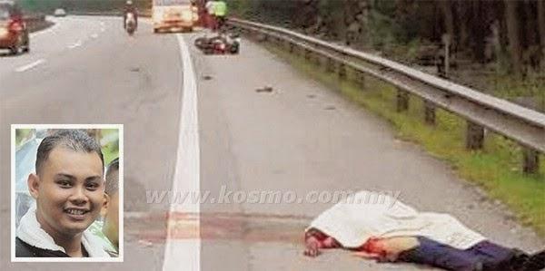 Anggota polis maut diseret 50 meter, info, terkini, berita, nahas jalan raya, kemalangan