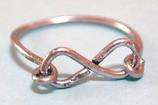 cara membuat cincin omega infinity ring