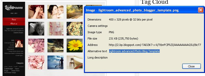 how to add alt text to images joomla