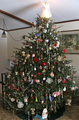 decorated Christmas tree 2015