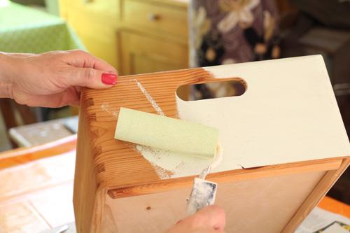DIY Tutorial Baumarkt Upcycling Annette Diepolder Der Atelierladen annettes-atelier.blogspot.de