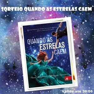 Sorteio Livro Quando as estrelas caem