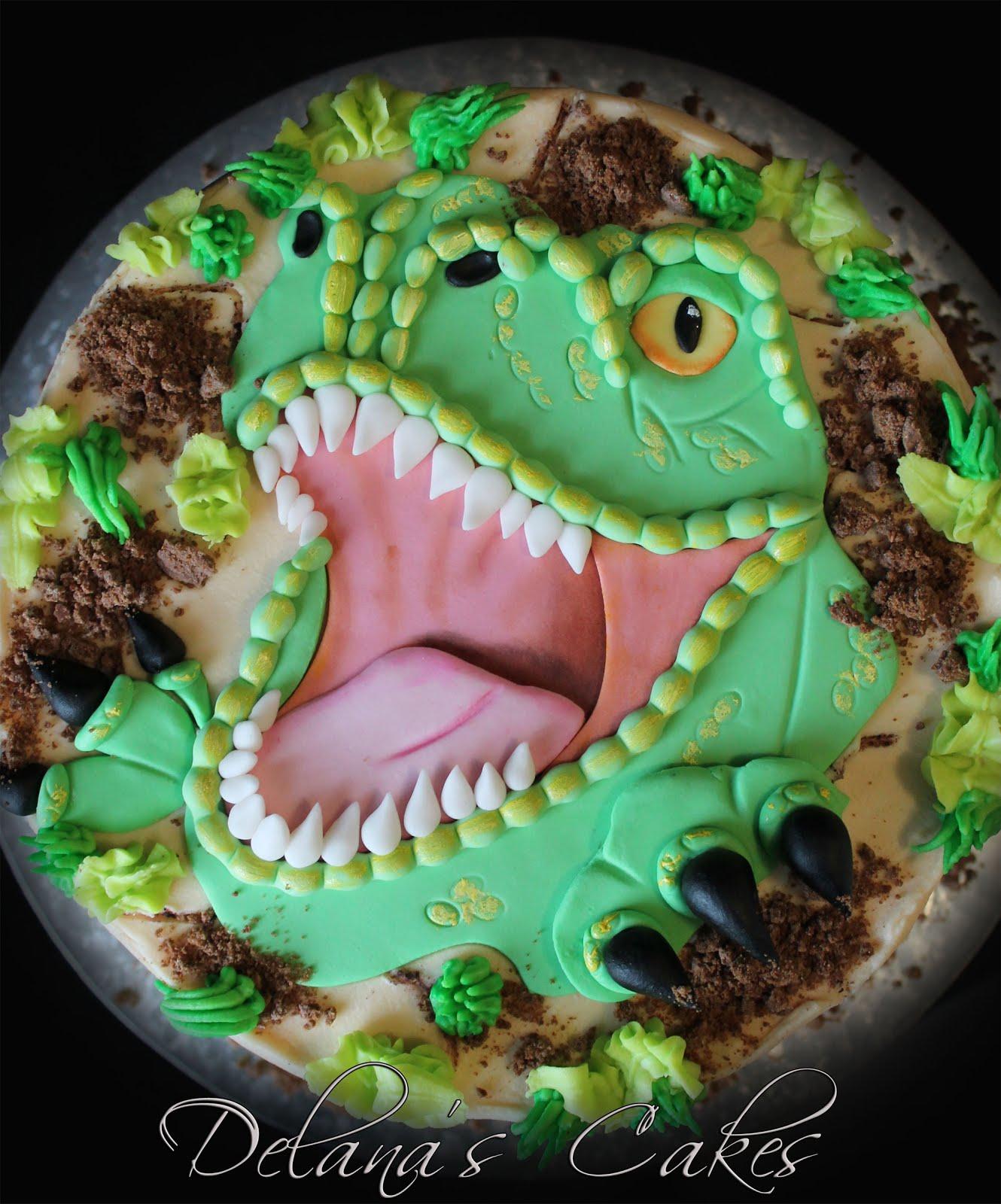Delana S Cakes Dinosaur Cakes