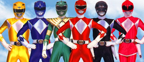 mighty morphin power rangers haim saban roberto orci megazord red ranger green ranger