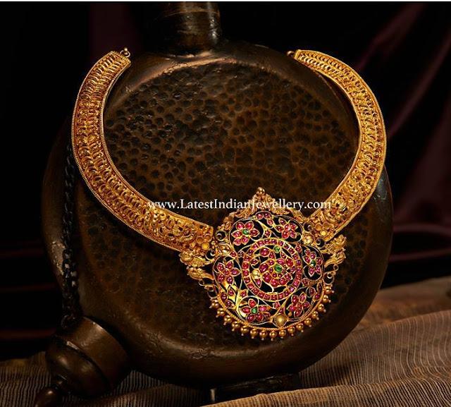 Vintage Indian Gold Necklace