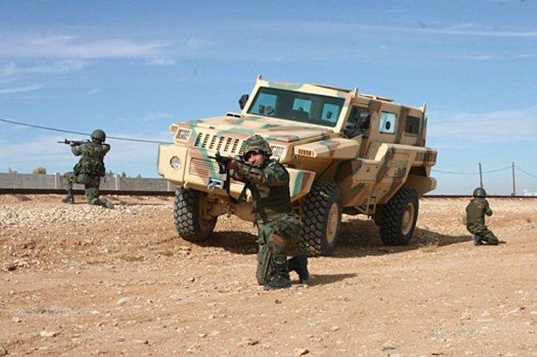 Fuerzas Armadas de Jordania Jordan+Marauder