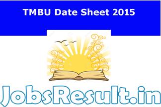TMBU Date Sheet 2015